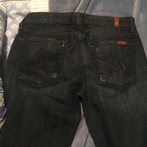 Size 27 Seven Jeans boot cut